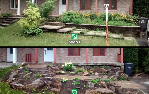 Access Steps Makeover